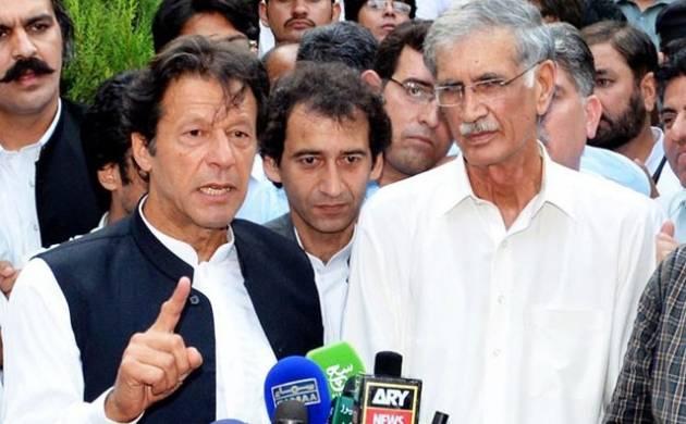Tehreek-e-Insaf chief Imran Khan
