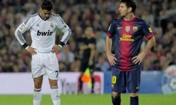 Lionel Messi, Cristiano Ronaldo kissing graffiti causes stir pre-Clasico