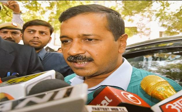 MCD polls 2017: Arvind Kejriwal grills State Elcetion Commission over 'faulty' EVMs (img Source: Twitter)
