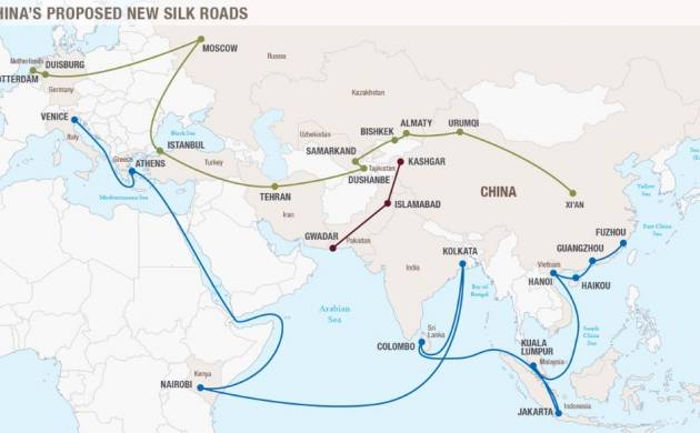China's new Silk Road (Source:Council on Foreign Relations)