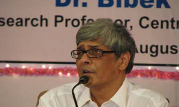 Tax agriculture income, says NITI Aayog member Bibek Debroy