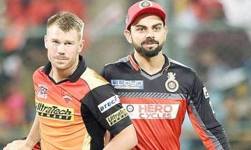 IPL 2017   RCB vs SRH: Royal Challengers Bangalore and Sunrisers Hyderabad share points as rain abandons match