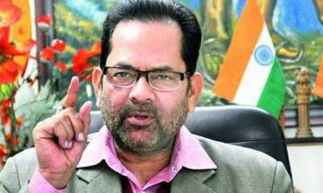MCD Results: Naqvi takes jibe at AAP, says 'instead of blaming EVM, respect people's mandate'