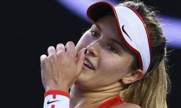 Eugenie Bouchard calls Maria Sharapova a cheater; urges life ban for her