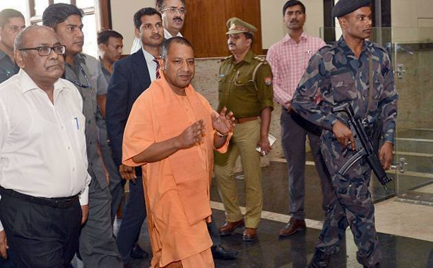 UP CM Adityanath to make surprise call to check absentee babus (File Photo)