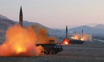 North Korea launches ballistic missile in defiance of world, US confirms