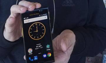 John McAfee unveils plans for world's most hack-proof smartphone