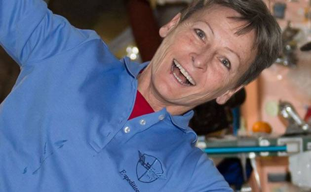 Peggy Whitson makes her way up after breaking record, shares about her space mission (Img Source: Twitter)
