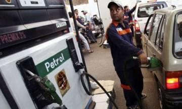 Petrol price hiked by 1 paisa, diesel by 44 paisa per litre