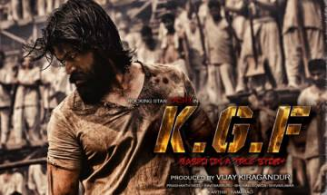 Karthik Gowda releases first look of Yash's KGF