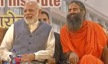 PM Modi at Ramdev's Patanjali Yogpeeth: 'We have remained behind in the patent war due to our lackadaisical attitude'