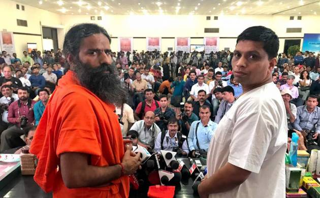 Yoga Guru Ramdev: Patanjali turnover Rs 10,561 crores, growth target for FY 2017-18 set at 100 per cent (Photo:@yogrishiramdev)