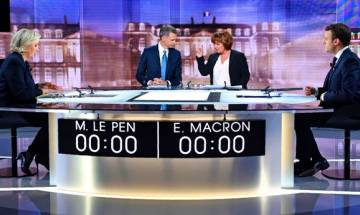 French Presidential elections 2017:  Candidates Le Pen, Macron exchange blows in ill-tempered televised debate   Top quotes