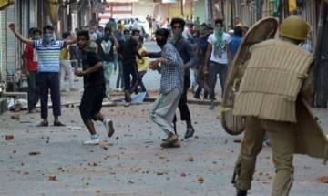 Jammu and Kashmir: Students clash with security forces in Handwara, Pulwama