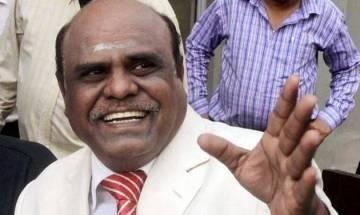Justice CS Karnan 'sentences' CJI J S Khehar, 7 other SC judges to five-yr imprisonment