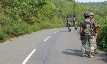 Manipur: 4 security personnel injured in IED blast along Asian Highway
