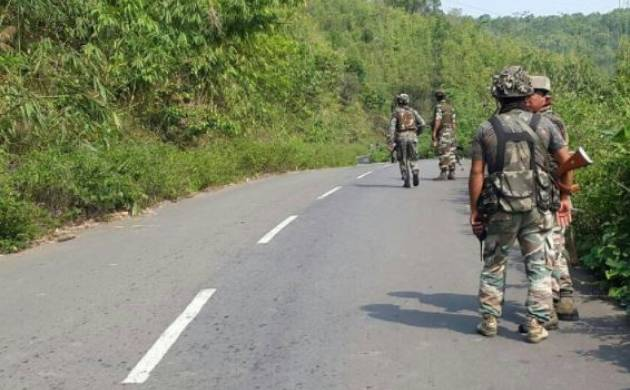 Manipur: 4 security personnel injured in IED blast in Imphal (Image: ANI)