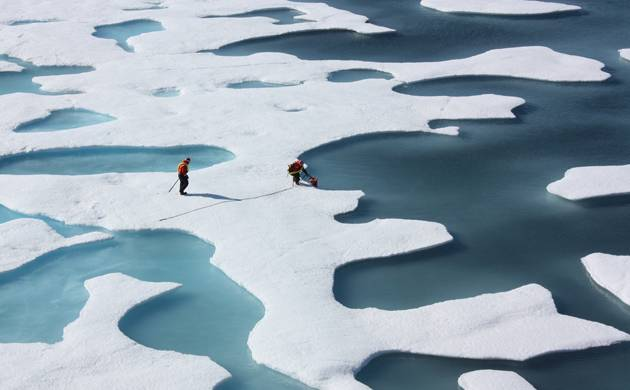 Climate change: Arctic ice could be all gone by 2040, warn scientists
