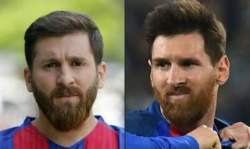 Lionel Messi's lookalike 'Messi-ing' around in Iran