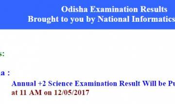 Odhisa CHSE Plus 2 Science Result 2017 announced at chseodisha.nic.in; check here
