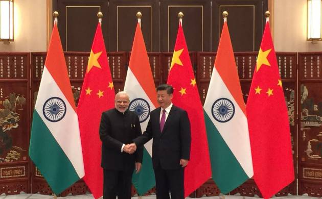 File Photo of PM Modi with Chinese premier Xi Jinping