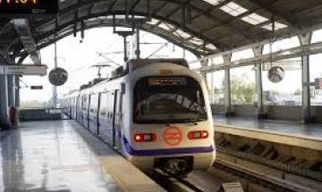 Delhi Metro's Blue Line services disrupted after man walks on metro track