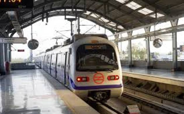 Delhi metro's blue line services disrupted after man walks on metro tracks