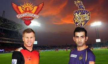 IPL 2017 Eliminator | Sunrisers Hyderabad vs Kolkata Knight Riders: Play disrupted due to rain