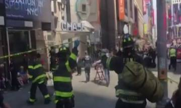 1 killed, 22 injured as car strikes people in New York's Times Square