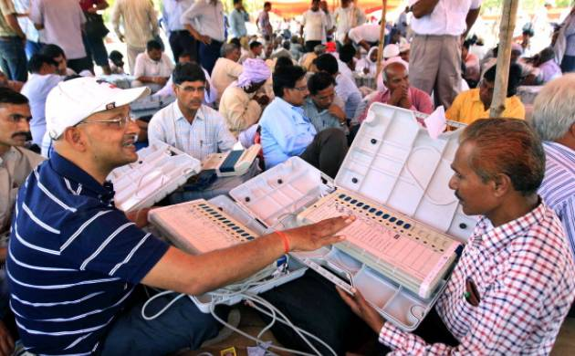Election Commission to hold a live demo of EVMs and VVPATs tomorrow
