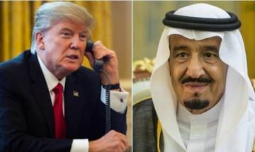 US, Saudi Arabia sign arms deals worth almost USD 110 billion: White House