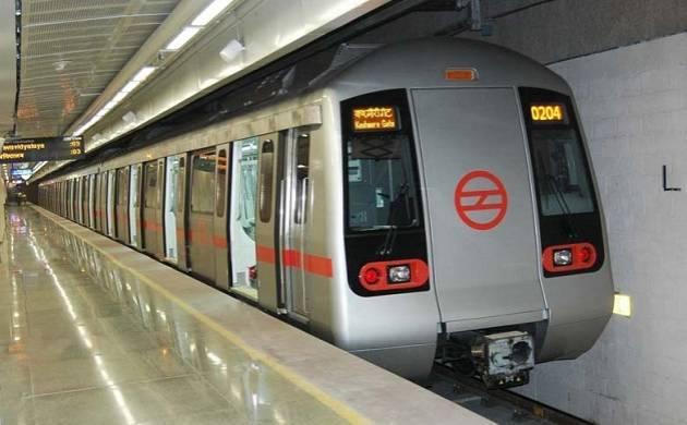 A file photo of a Delhi Metro train.