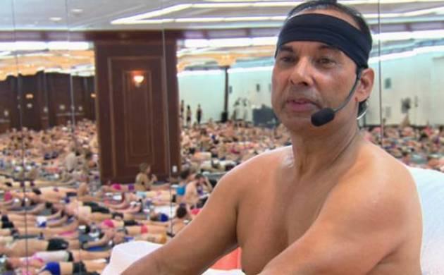 A file photo of 'hot yoga' founder Bikram Choudhury.