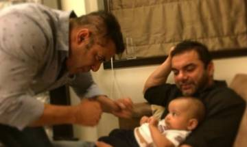 Amid 'Tubelight' promotion Salman Khan shares the cutest ever moment with nephew Ahil (see videos)