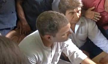 Rahul Gandhi meets victims of Saharanpur caste clashes at district's border, says NDA govt spreading fear among weaker sections