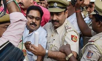 Election Commision bribery case: TTV Dhinakaran seeks bail, crime branch opposes it