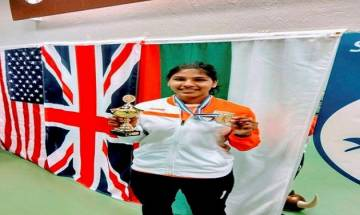 Virender Sehwag congratulates India's first gold medal winning fencer Bhavani Devi on Twitter, hails her JAI BHAVANI