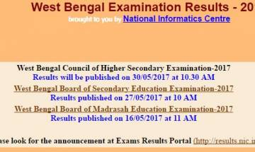 WBCHSE HS Result 2017 announced by West Bengal Board at wbresults.nic.in; check your score card here