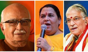 Babri Masjid case: Charges of criminal conspiracy framed against Advani, Joshi, Uma, 9 others by Special CBI Court