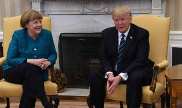 White House: Donald Trump has 'fairly unbelievable' relationship with German Chancellor Angela Merkel