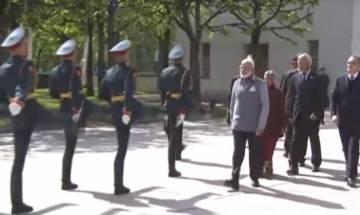 PM Modi pays homage at Piskarovskoye Cemetery in St Petersburg, will meet Russian President Putin later