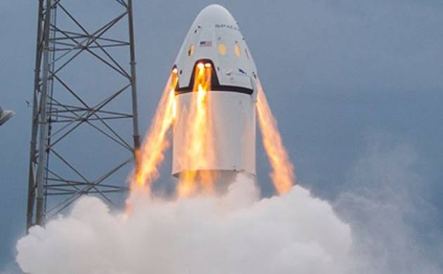 SpaceX Dragon launch today (File photo)
