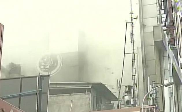 Chennai Silks fire: Residents left teary eyed due to toxic smoke (Pic: ANI)