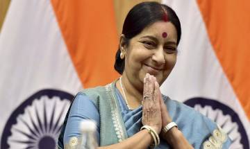 Sushma Swaraj tells Pakistani man to get Aziz's letter for medical visa