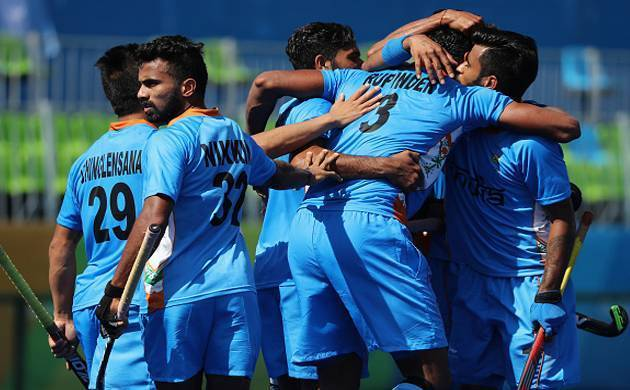 Indian Hockey team defeat Belgium