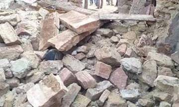 Wall collapses in Himachal Pradesh's Solan, eight including four children killed