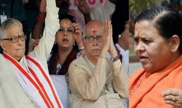 Babri Masjid case: LK Advani, Uma Bharti, MM Joshi exempted from personal appearance in special CBI court