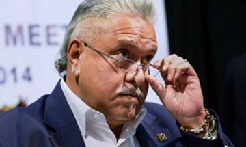 Indian supporters boo Vijay Mallya as he enters Oval arena