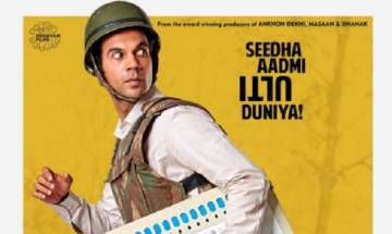 'Newton' poster: First look of Rajkumar Rao starrer out now, watch it here