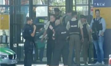 Munich shooting: Female cop and several others injured at underground station, suspect detained